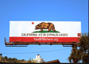 syphilis billboard